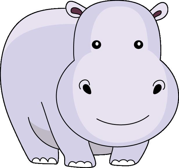 Hippo Clipart Clip art of hippopotamus