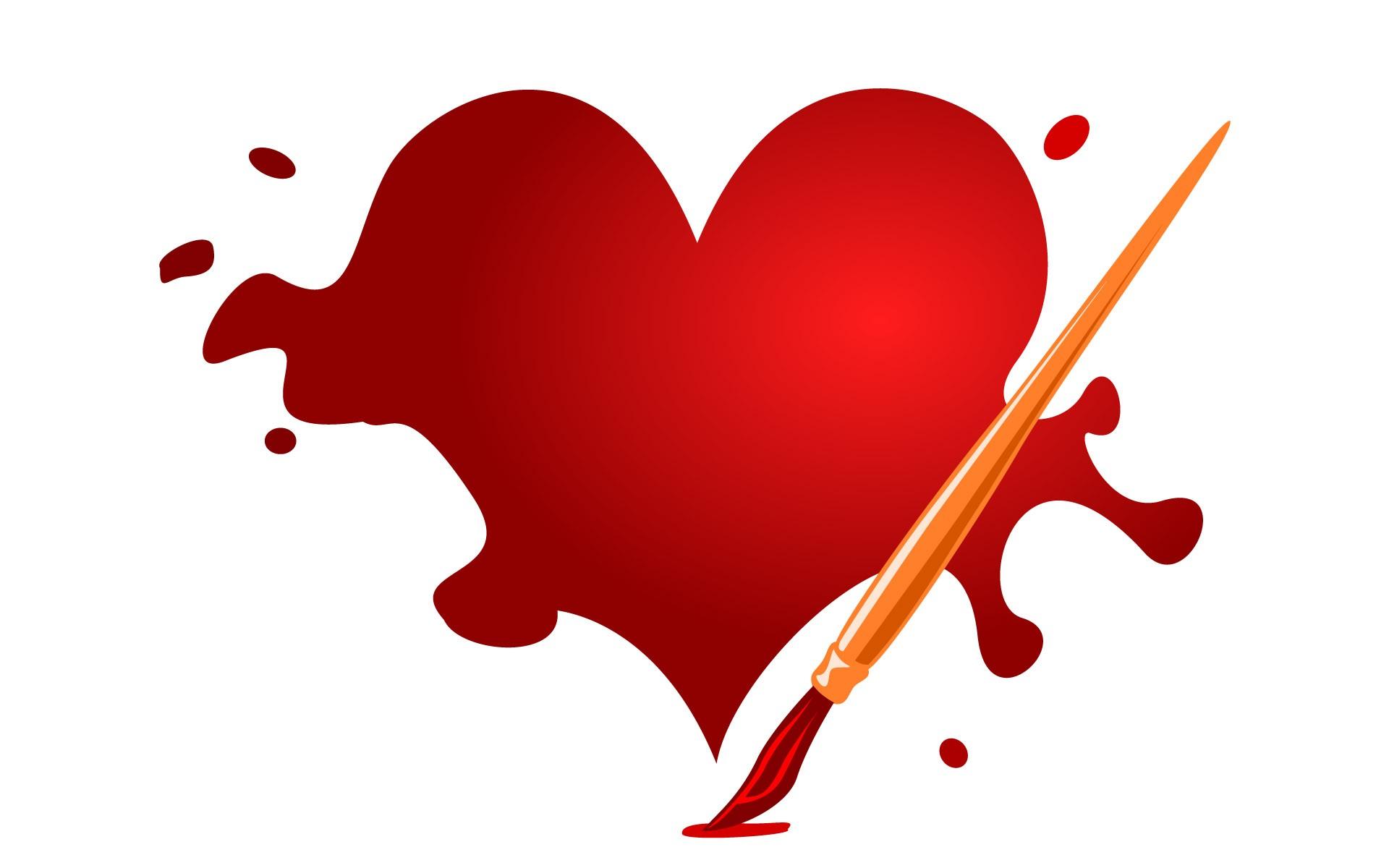 beautiful 3d love heart - photo #30