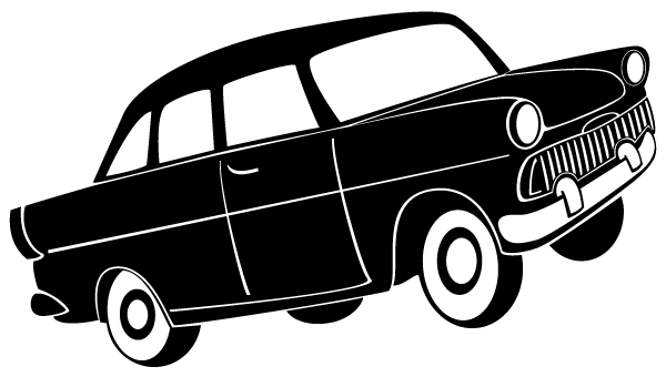 free car silhouette clip art - photo #27