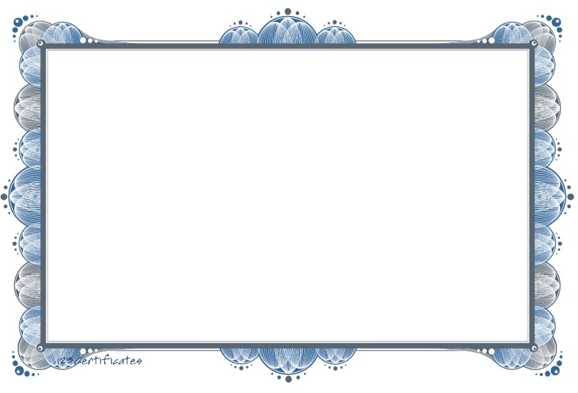 Displaying Images For - Free Printable Blank Certificate Borders...