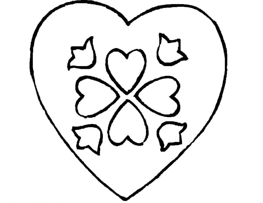 Printable Heart Template Printable templates