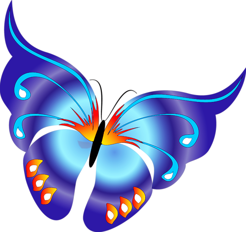 animated butterfly clipart free - photo #2