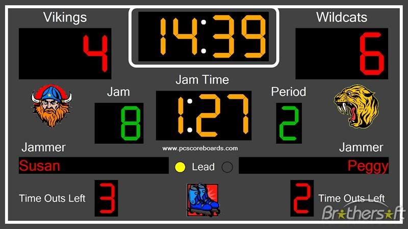 Download Free Roller Derby Scoreboard Pro, Roller Derby Scoreboard ...