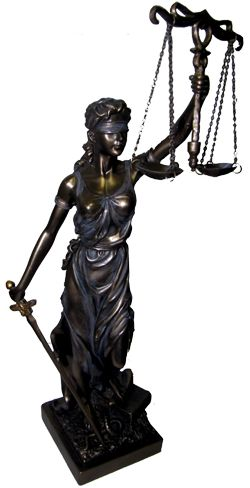 lady justice statue drawing - photo #40
