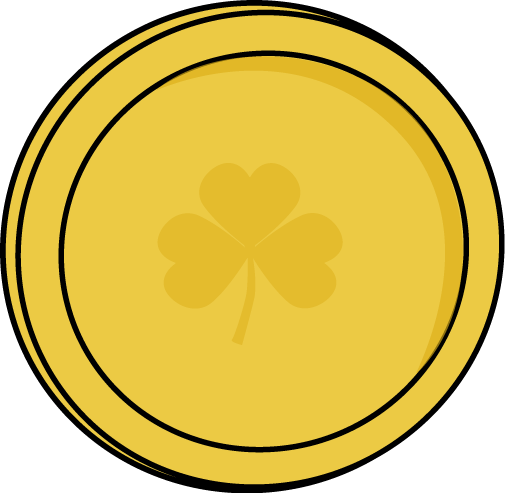 Cartoon Gold Coins