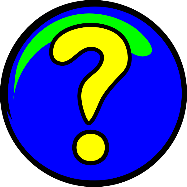 Rainbow Cartoon Question Marks - ClipArt Best