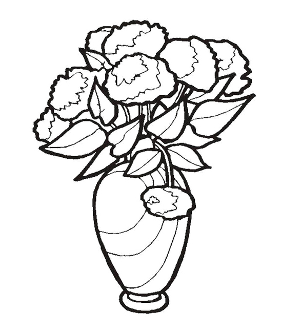 Flower Vase Template Clipart - Free to use Clip Art ...