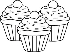 Muffins Clipart - ClipArt Best