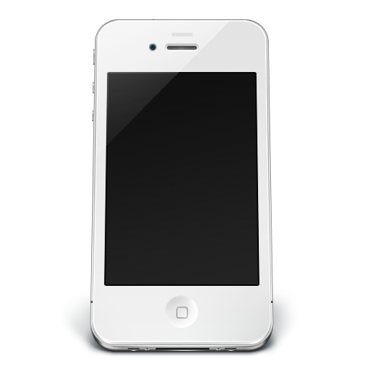 iPhone White Off Icon | iPhone 4 Iconset | Musett ...