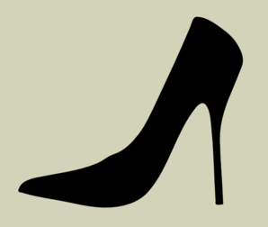High Heel Silhouette With Cream Background clip art - vector clip ...: www.clipartbest.com/clip-art-backgrounds
