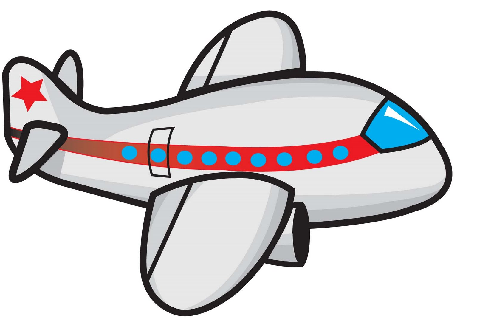 Carton Airplane - ClipArt Best