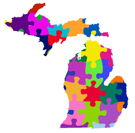 State Of Michigan - ClipArt Best