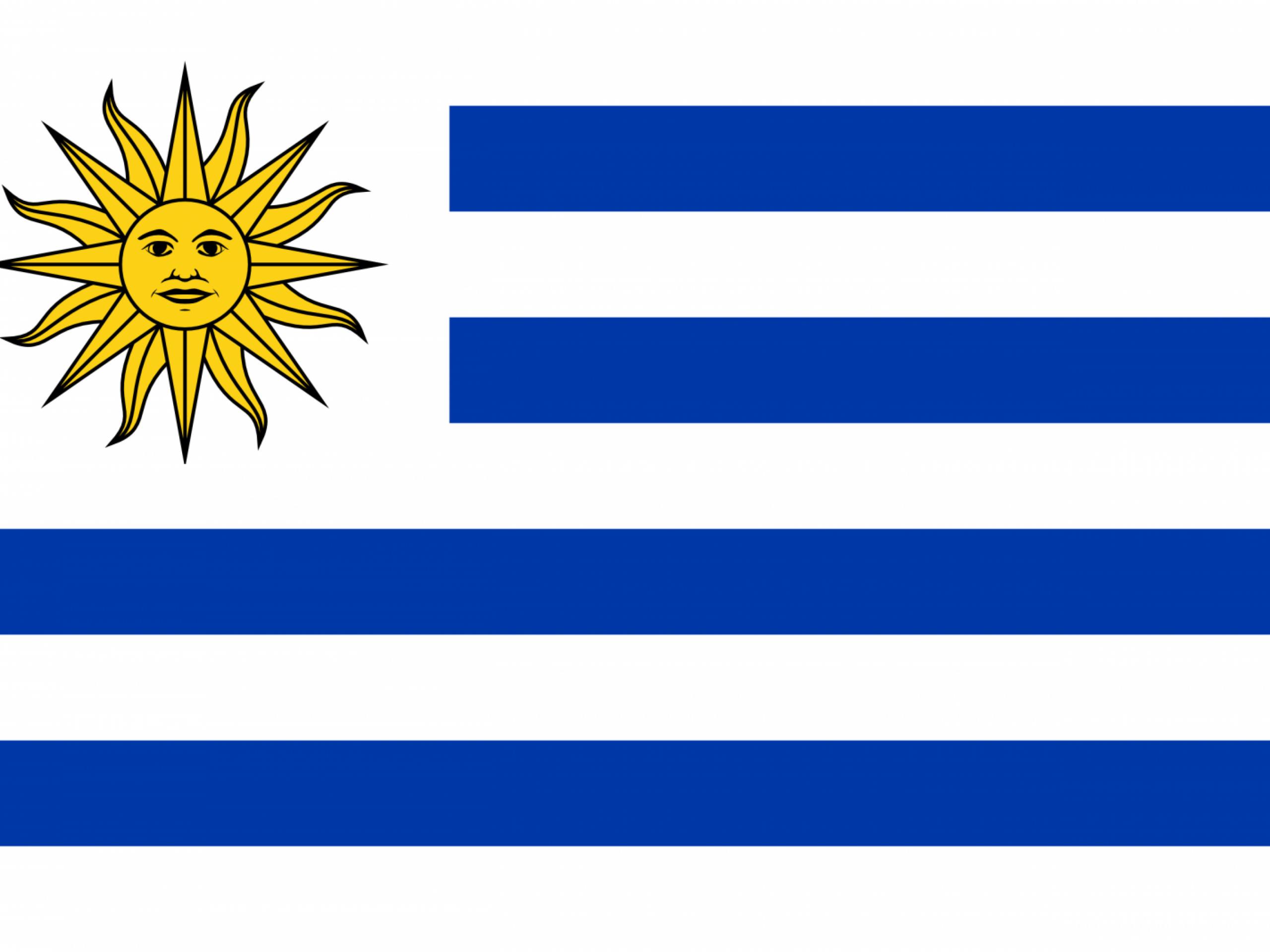 Sol Bandera De Uruguay - ClipArt Best