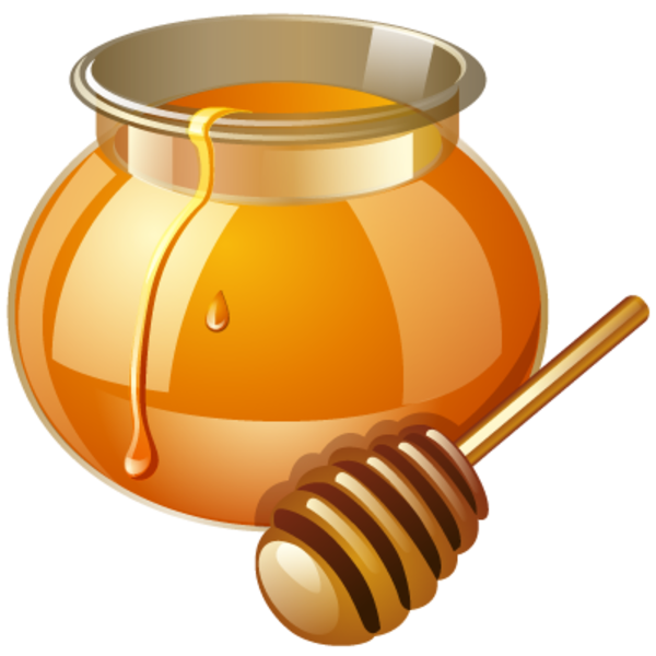 Honey Jar Clip Art - ClipArt