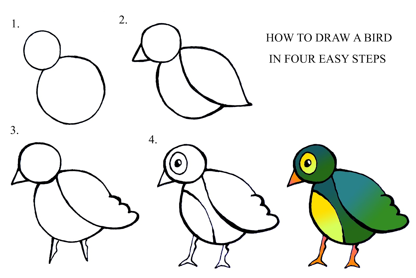 Step By How To Draw A Flower ClipArt Best
