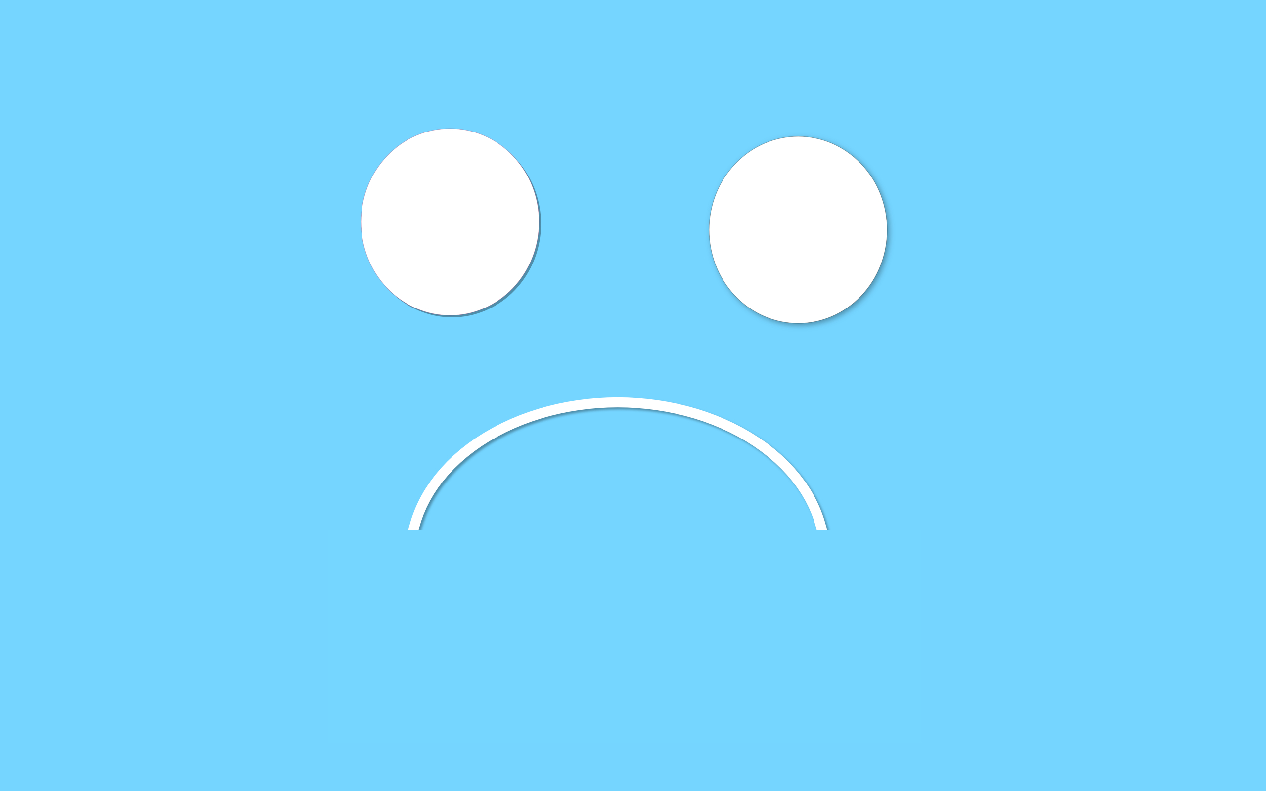 sad face wallpaper - photo #3