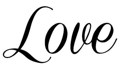 i love you in cursive font - photo #41