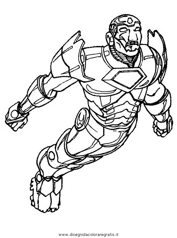 Ironman da colorare clipart best for Iron man da colorare
