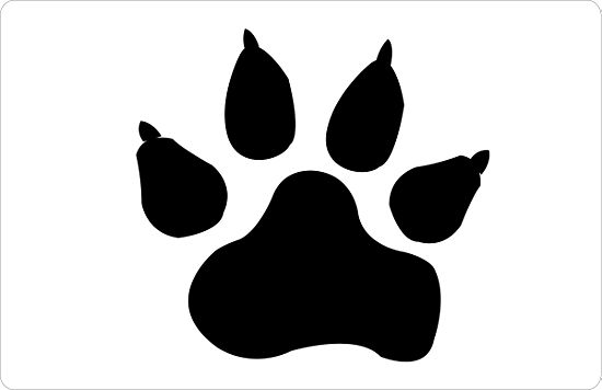 Pictures Of Dogs Paw Prints - ClipArt Best