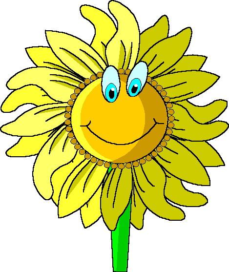Clip Art - Clip art sunflower 064173