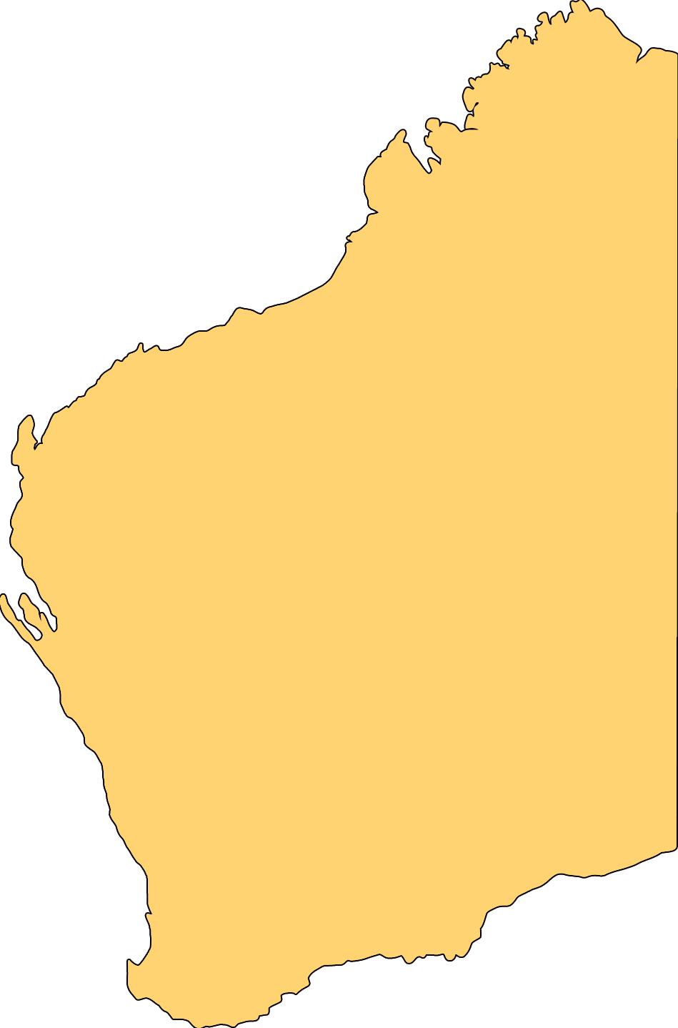 Australia Map Blank ClipArt Best – Australia Map Blank