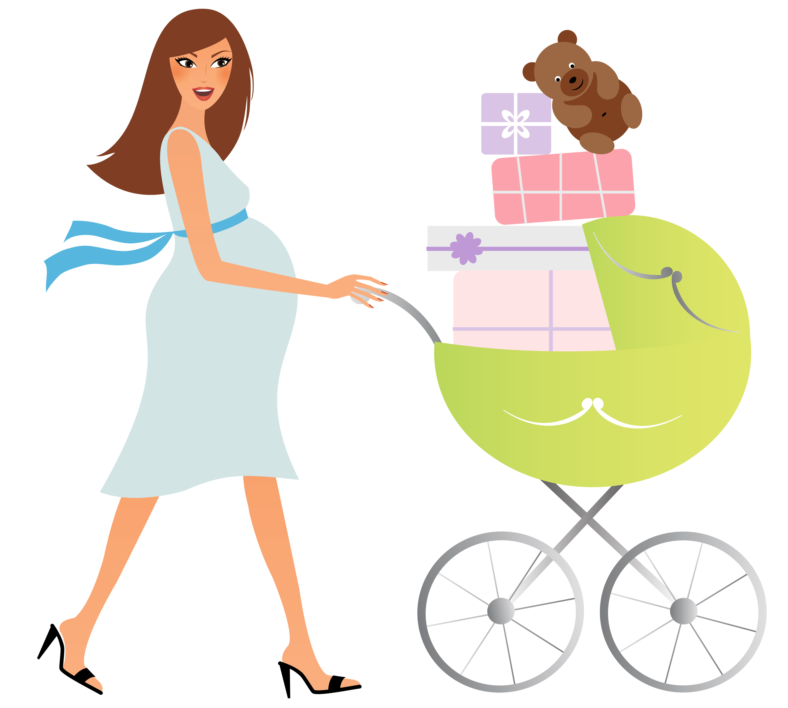 Pregnancy shopping checklist: Second trimester. Get more shopping information for your baby's first six weeks; Consult our list to see which baby clothing items and how many of each you'll need for your newborn's first weeks. Baby and mom gear for the first six weeks.