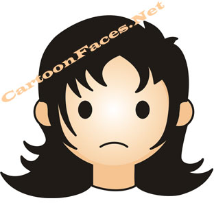 Sad Face Cartoon Character - ClipArt Best