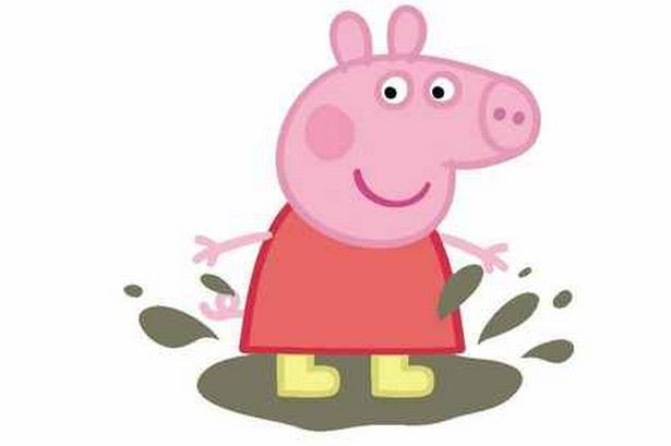 Peppa Pig Birthday Cake Clipart