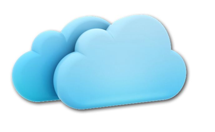 Internet Cloud Icon Re...