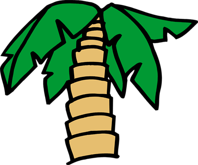 Coconut Tree Cartoon - ClipArt Best