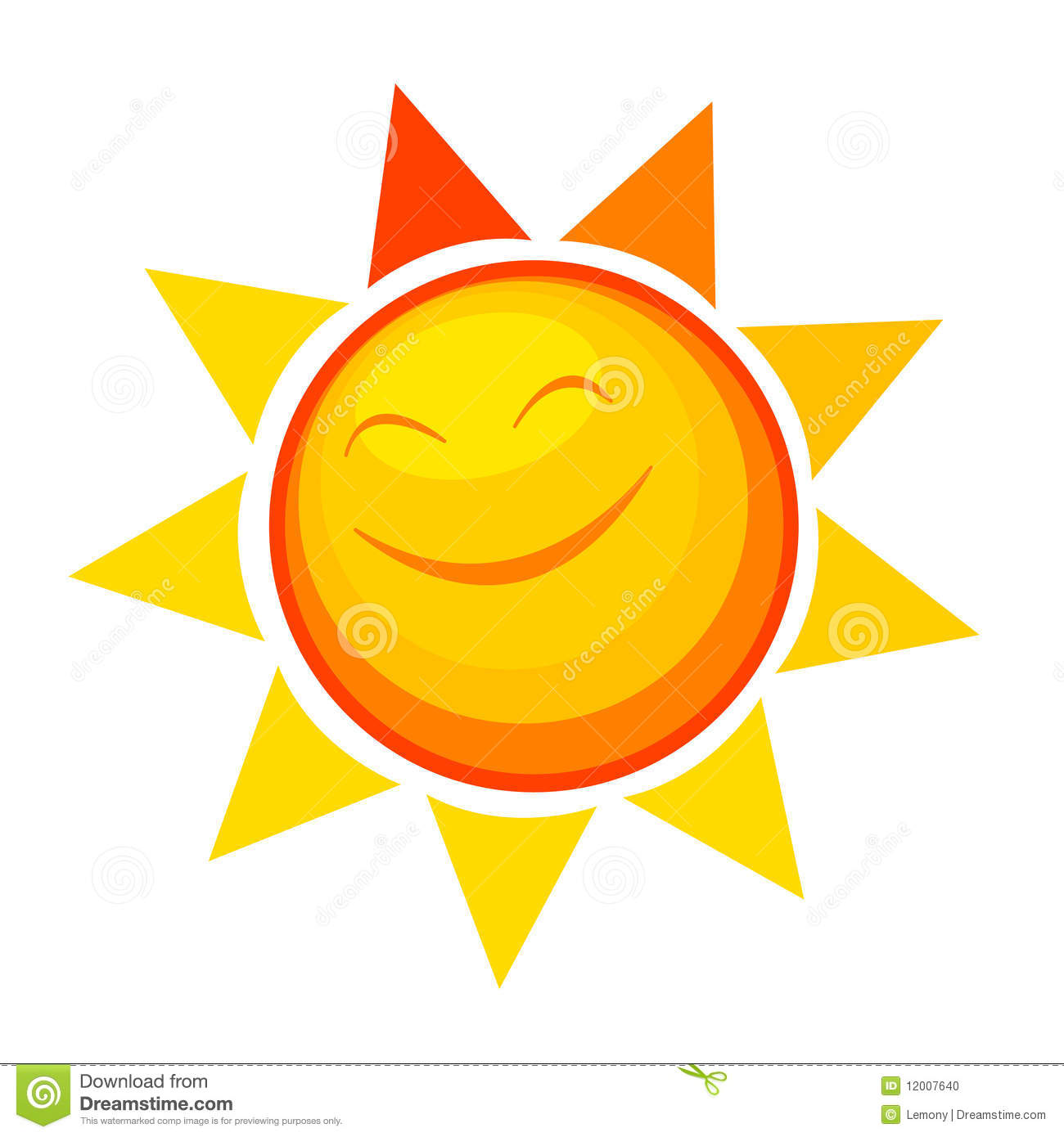 Happy Sunshine Clipart - Clipart Kid