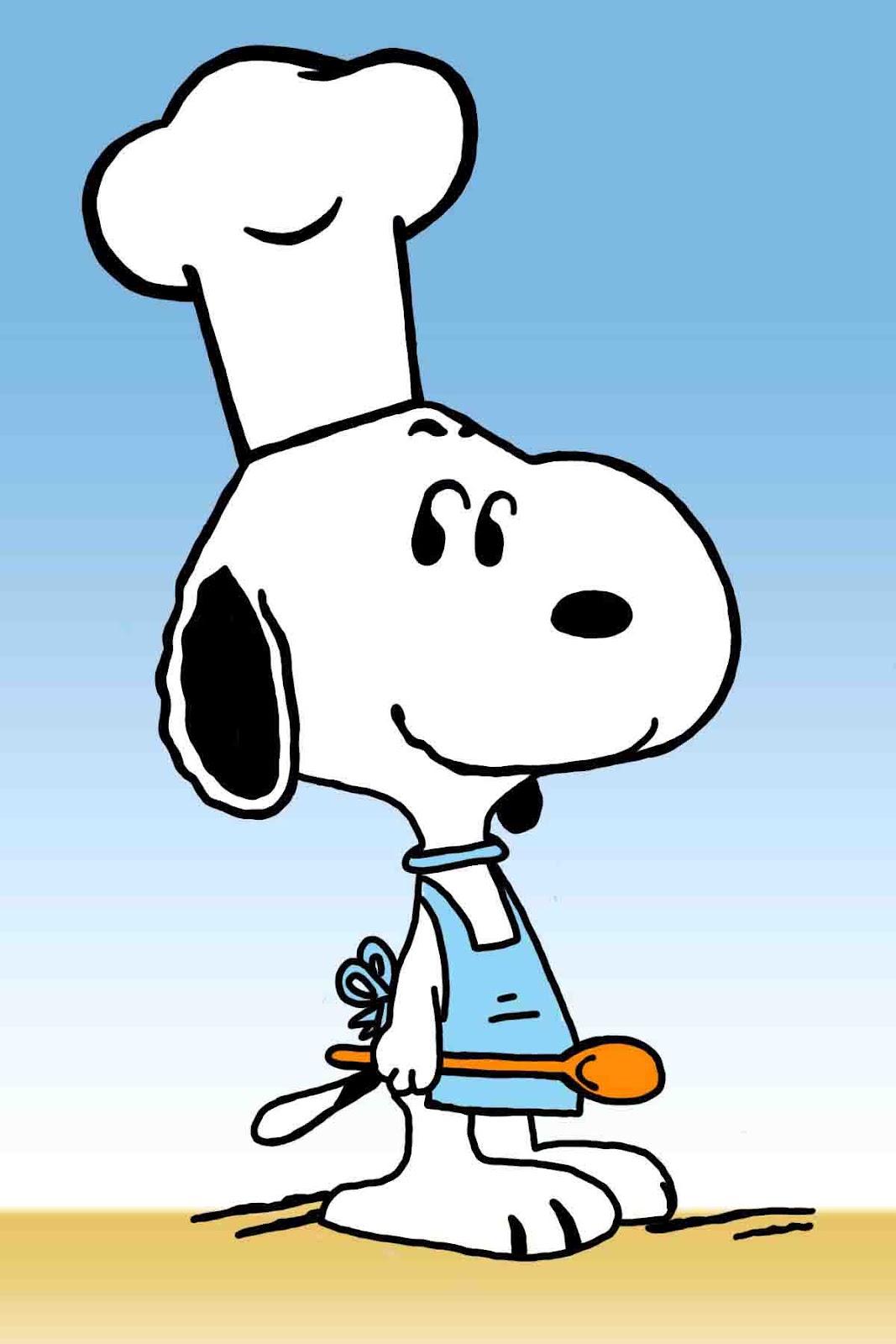 Tonito U0026 39 S Corner  Snoopy The Chef Clip Art - Clipart Best