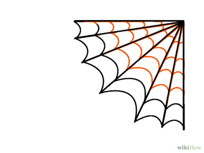 Template For Spider Web Clipart Best