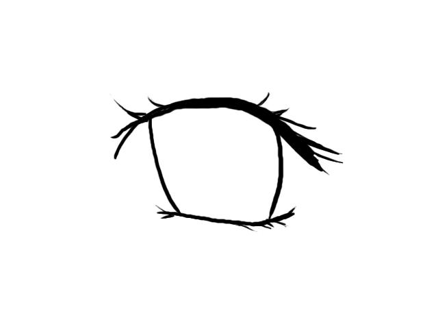 Line Art Eye : Eye line art clipart best