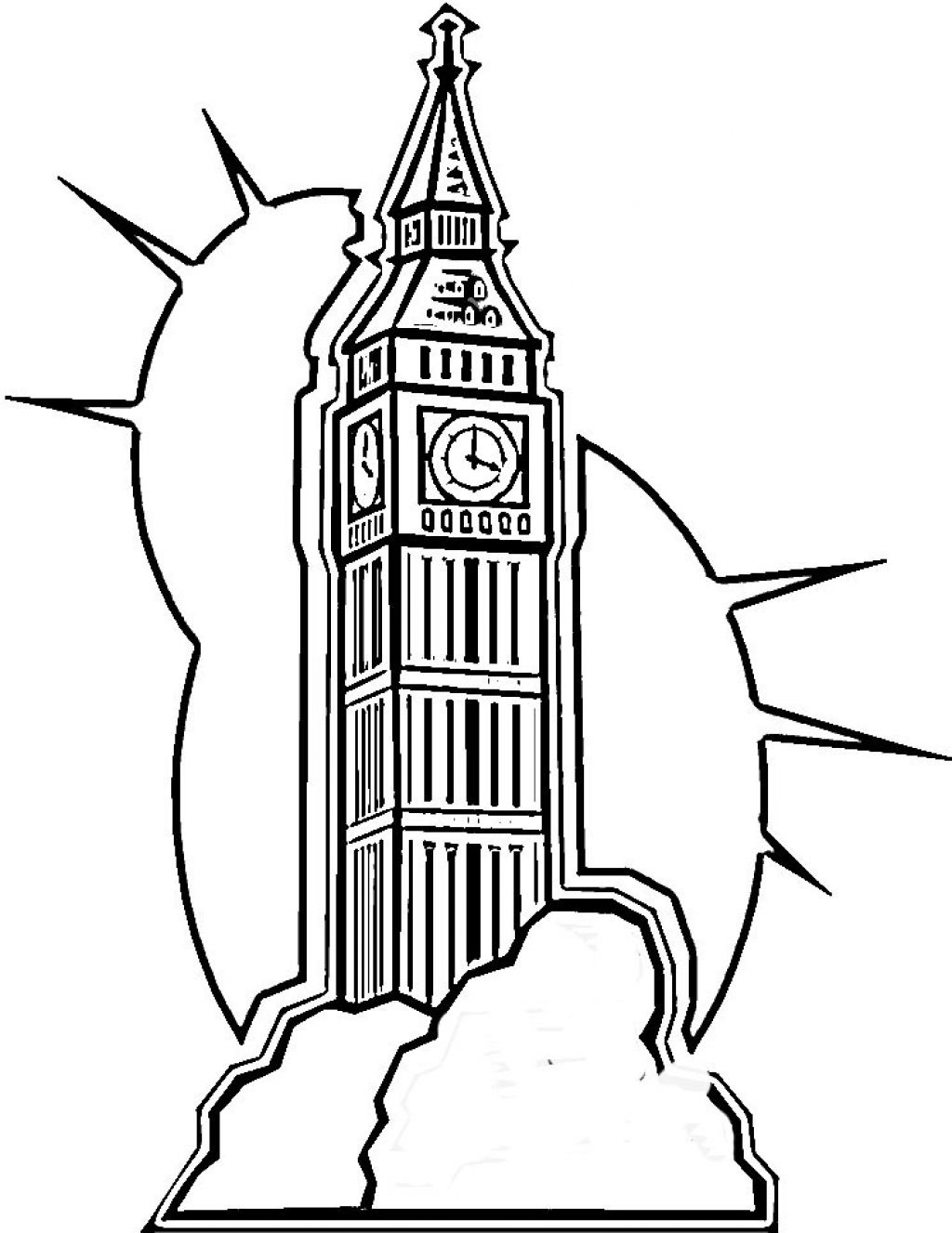 uk coloring pages - photo#48