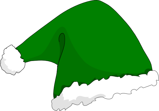 elf hat christmas xmas holiday SVG
