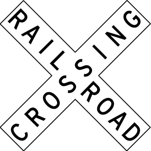 railroad crossing coloring pages - photo#4