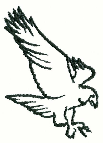 Eagles Logo Outline Eagle Outline Clipart