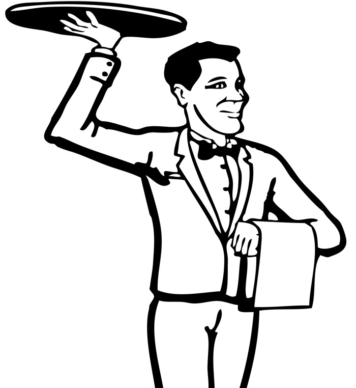 Waiter Pictures - ClipArt Best