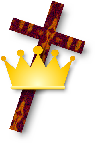free cross and crown clipart - photo #5