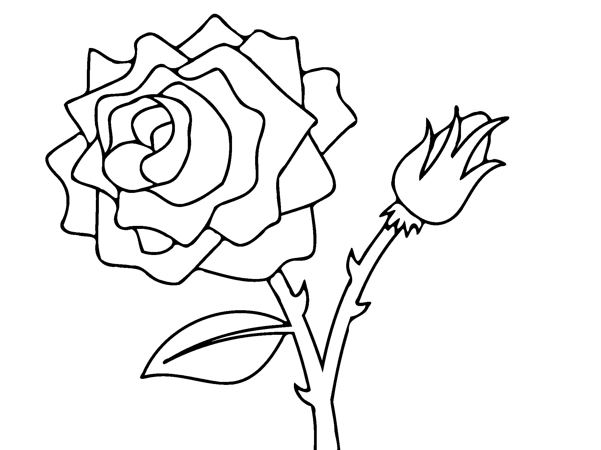 rose coloring pages games free - photo#21