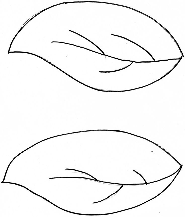 Simple Leave Patterns - ClipArt Best