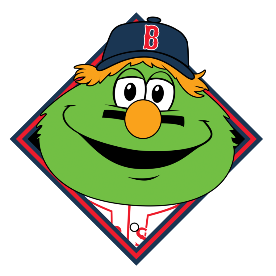 Red Sox Wally Clipart