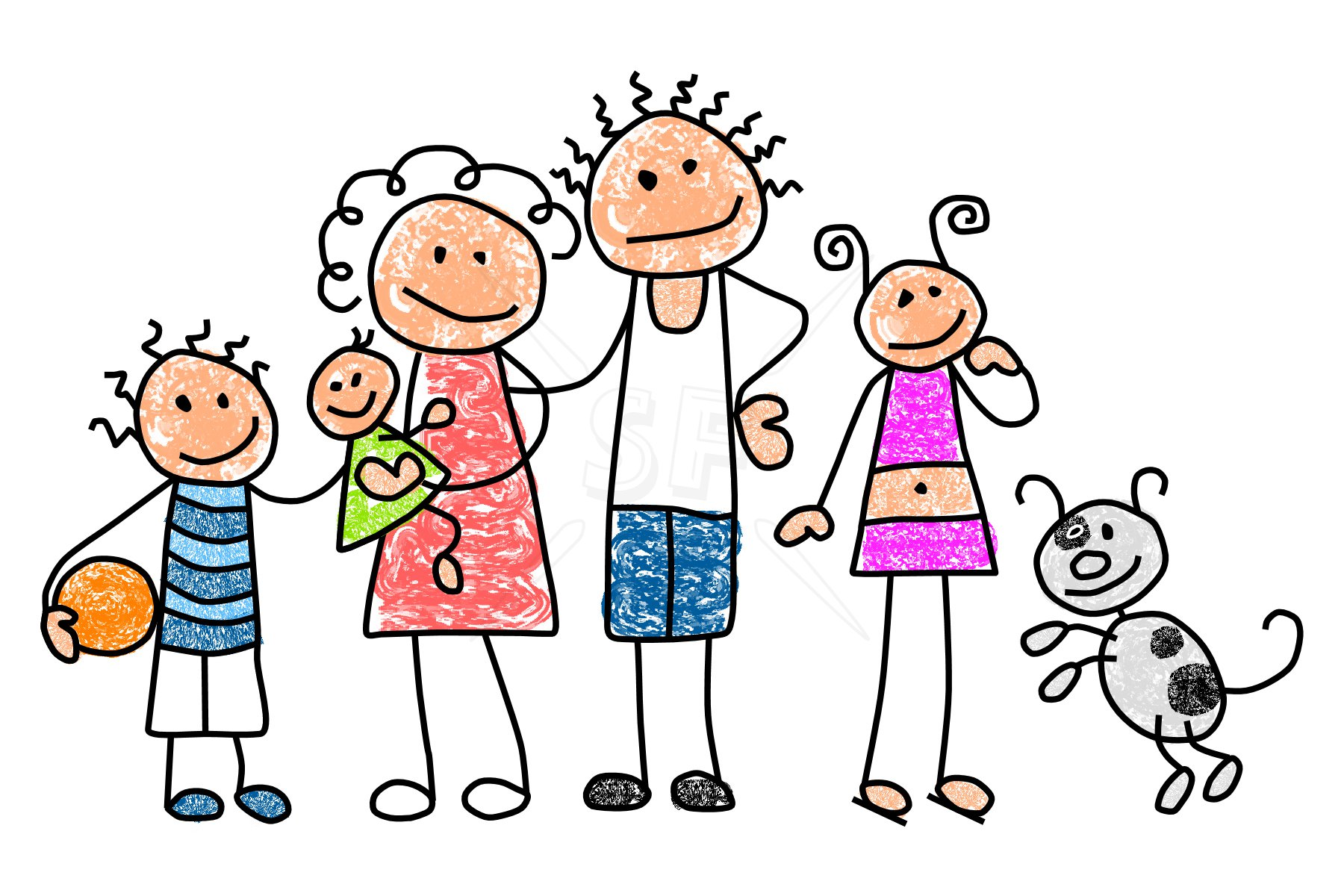 Free Family and Friends Cliparts