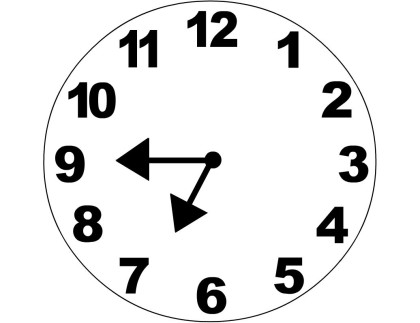 Analog Clocks To The Hour - ClipArt Best