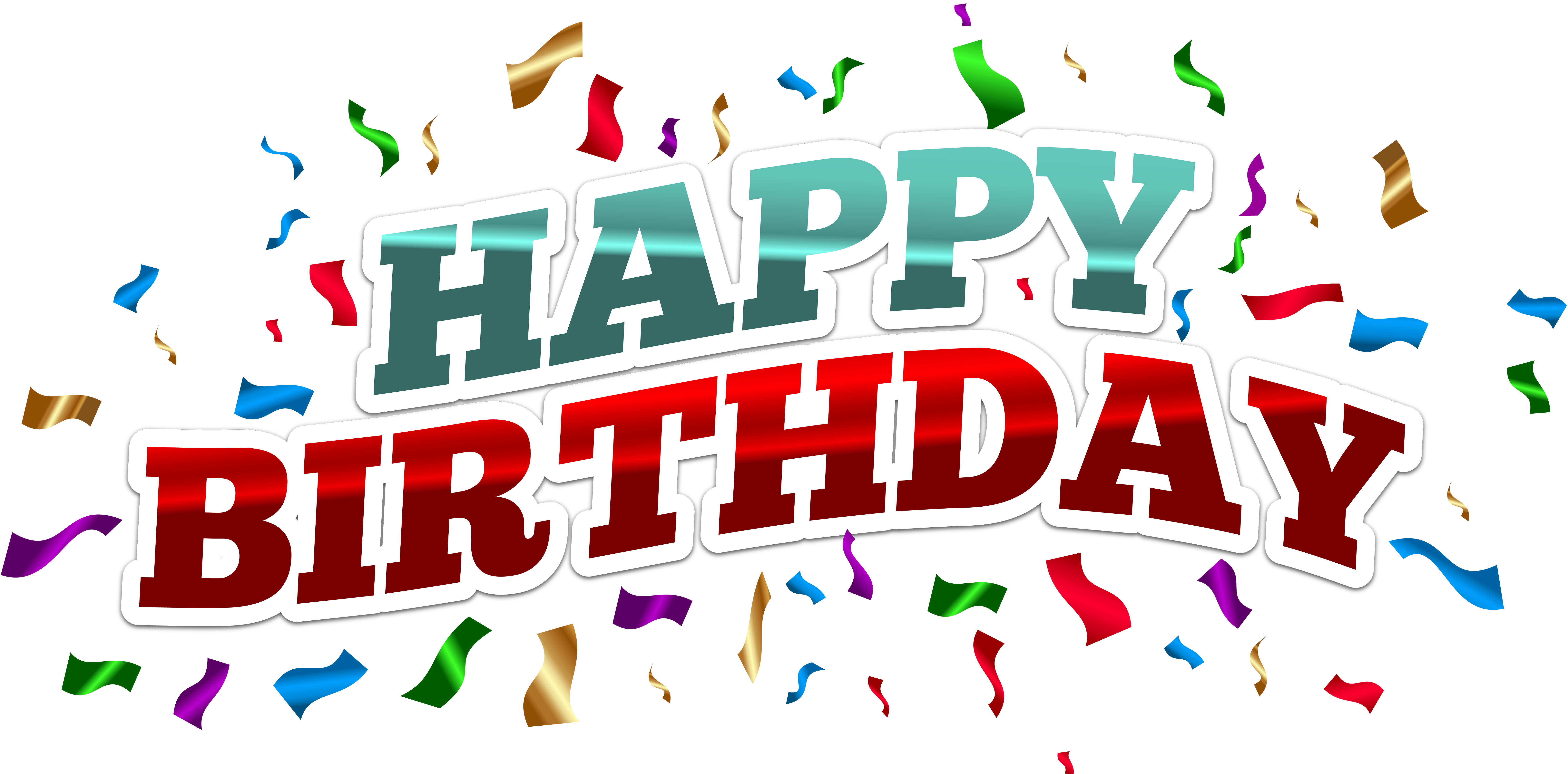 happy birthday png clipart best