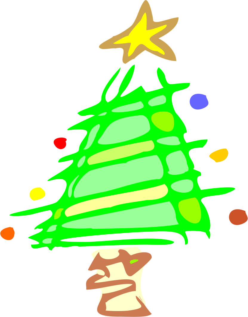 Cartoon Christmas Trees - ClipArt Best