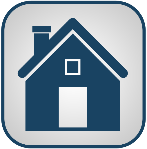 Icon home blue clipart best Website home image