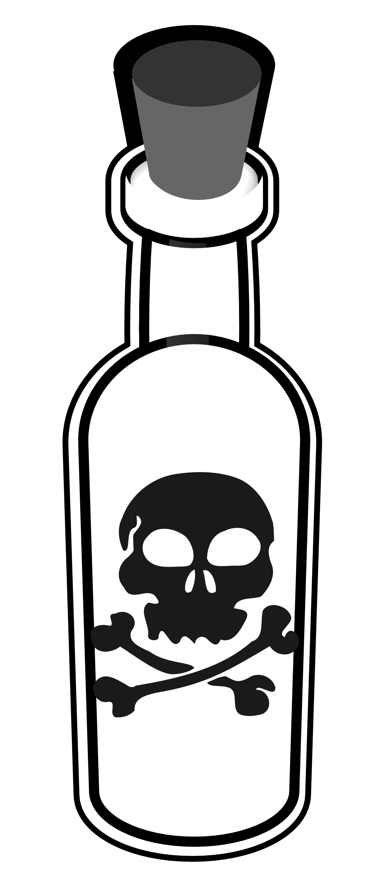poison bottle black white line art tatoo tattoo SVG ...