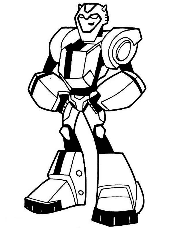 free bumblebee transformer coloring pages - photo#22